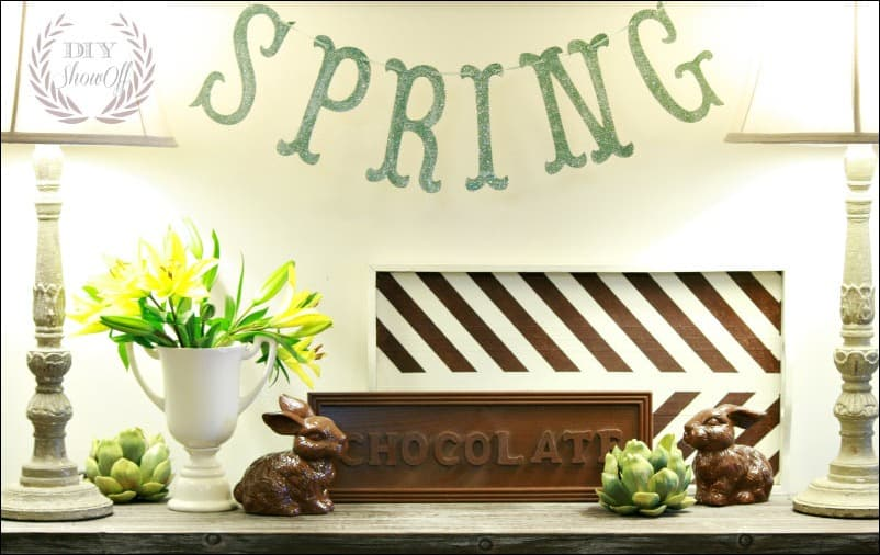 easter, spring, bunny, chocolate