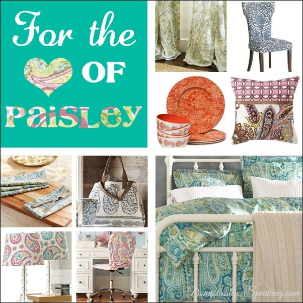 spring, trend, paisley, pillow, plates, furniture