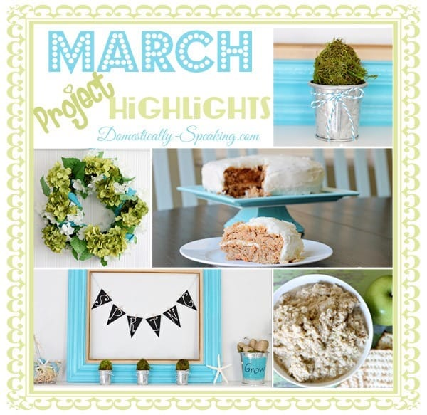 spring, march, highlights, projects, wreaths, mantels, carrot, cake, moss, eggs