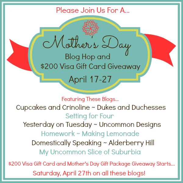 Mother's Day Blog Hop
