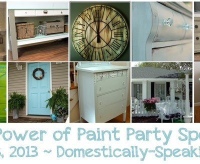 174th Power of Paint Party {PoPP}