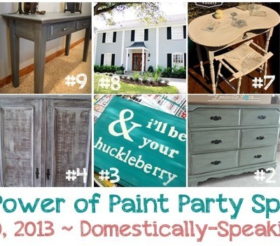 175th Power of Paint Party {PoPP}