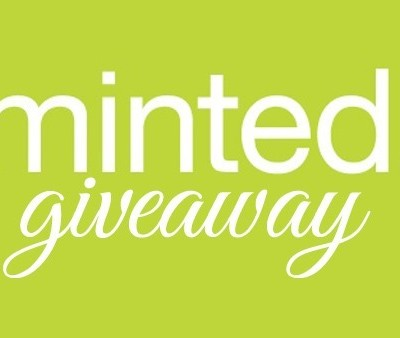 Beautiful Paper… Minted Giveaway