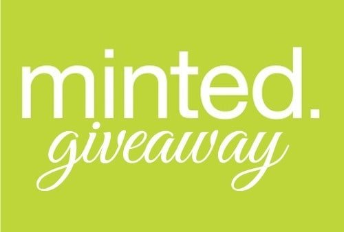minted. giveaway @ Domestically-Speaking.com