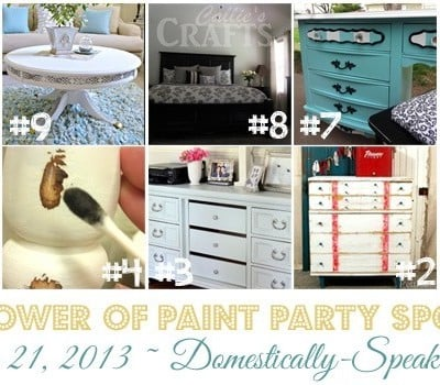 178th Power of Paint Party {PoPP}