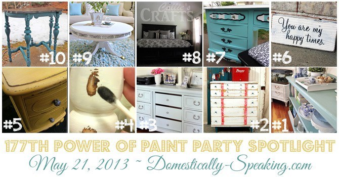 Power of Paint Party Spotlight at Domestically Speaking