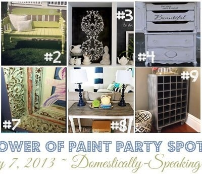 176th Power of Paint Party {PoPP}
