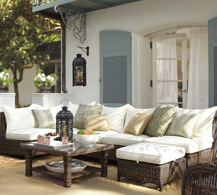 Gorgeous Pottery Barn Outdoor Seating