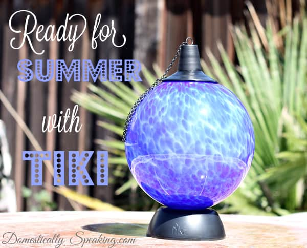 Tiki Glowing Table Torch