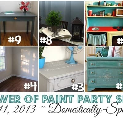 181st Power of Paint Party {PoPP}
