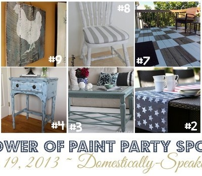 182nd Power of Paint Party {PoPP}
