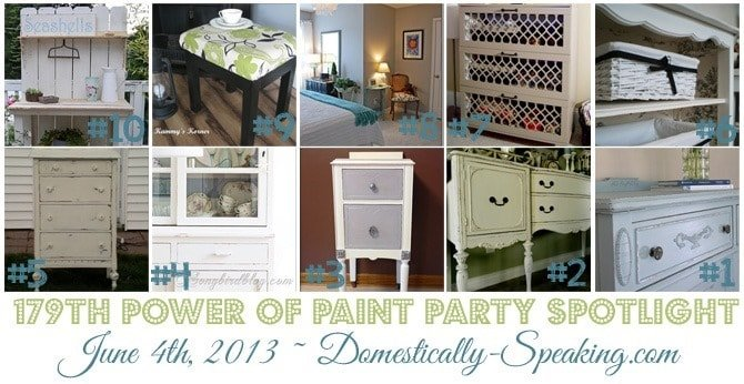 Paint Party, Domestically Speaking