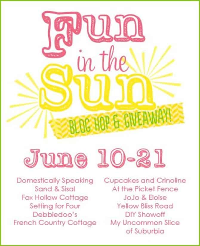 Fun in the Sun Summer Blog Hop & Giveaway