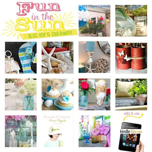 Fun in the Sun Blog Hop and Giveaway