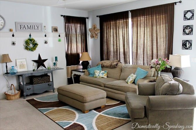 Living Room Updates with BHG