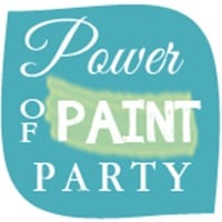Power of Paint Party @ Domestically-Speaking.com