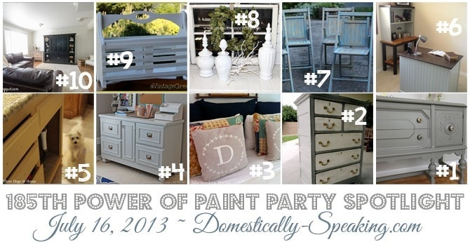 Power of Paint Party, Featured Paint Projects