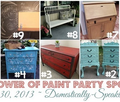 188th Power of Paint Party {PoPP}