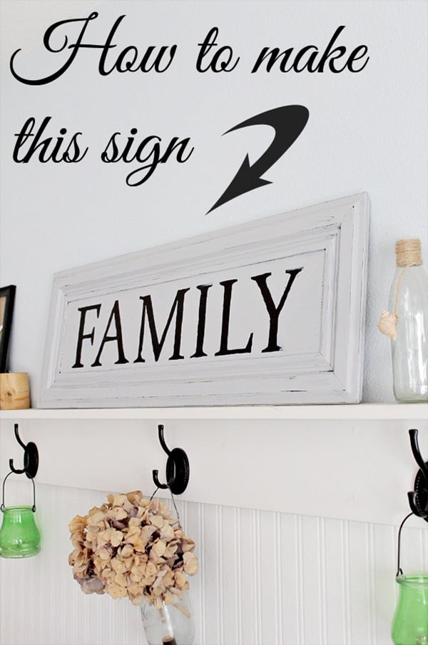 family sign 5
