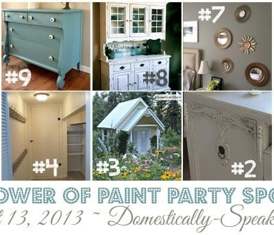 190th Power of Paint Party! {PoPP}