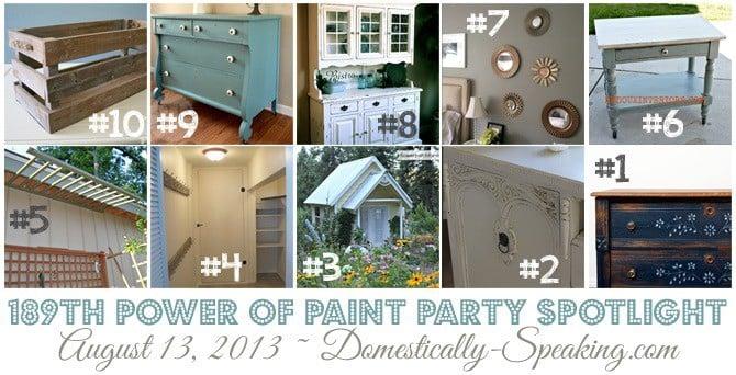 Power of Paint Party Spotlight