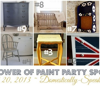 191st Power of Paint Party {PoPP}