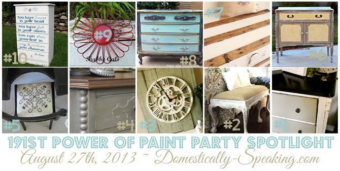 This week's Power of Paint Party is up!