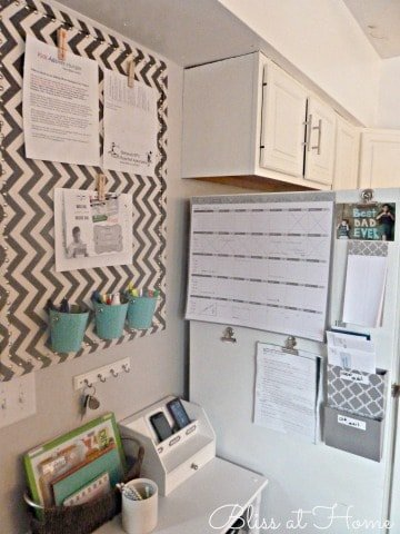 Bliss at Home's Family Command Center