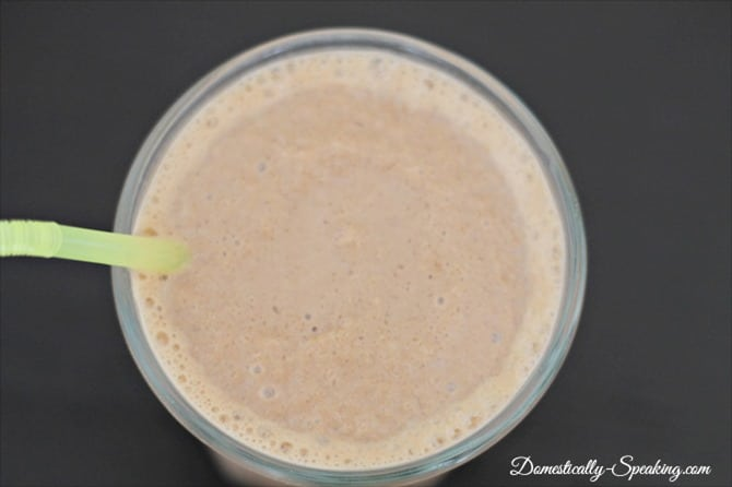 choc pb banana smoothie 2