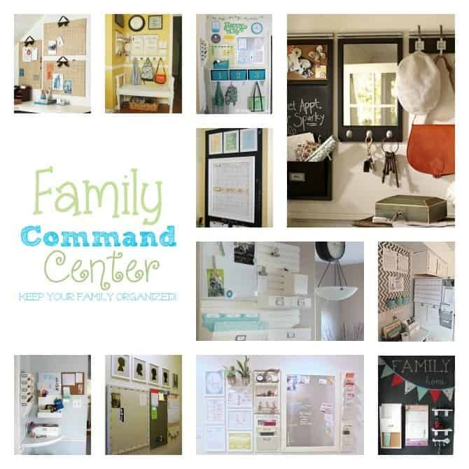 Family Command Center Inspiration