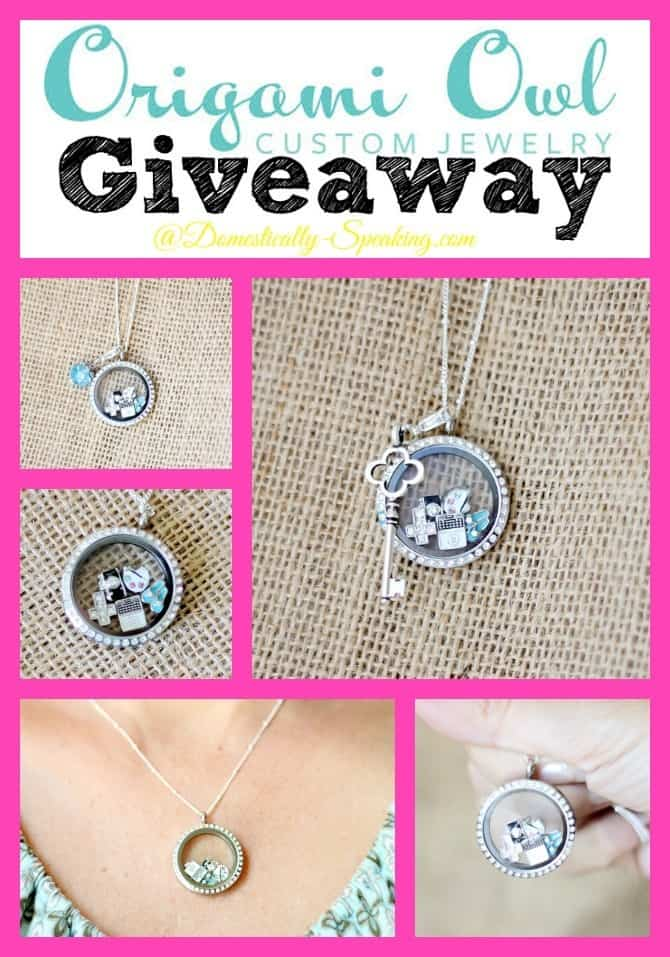Origami Owl Jewelry Giveaway