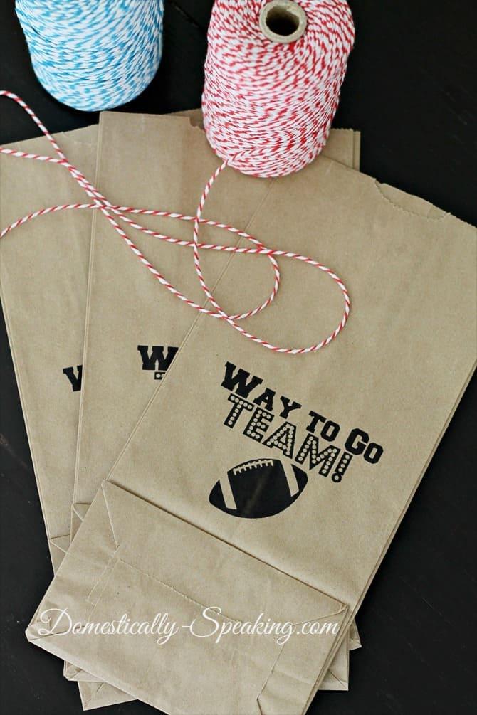 Sports Goodie Bag Printables