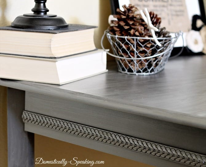 Nice How To Create A Zinc Finish With Acrylic Paint!