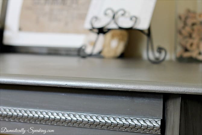 How To Create A Zinc Finish With Acrylic Paint!
