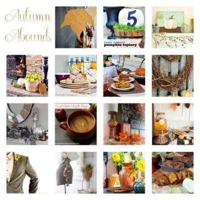 Autumn Abounds $1000 Giveaway & Linky Party