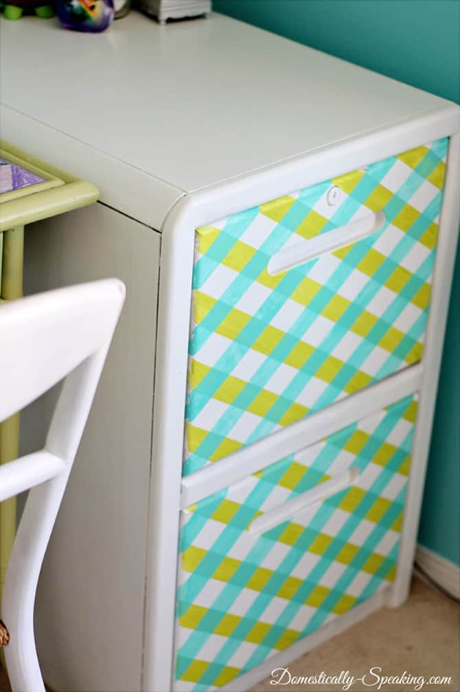 Striping a File Cabinet