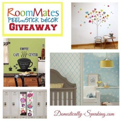 RoomMates Giveaway ~ Anniversary Giveaways Continue