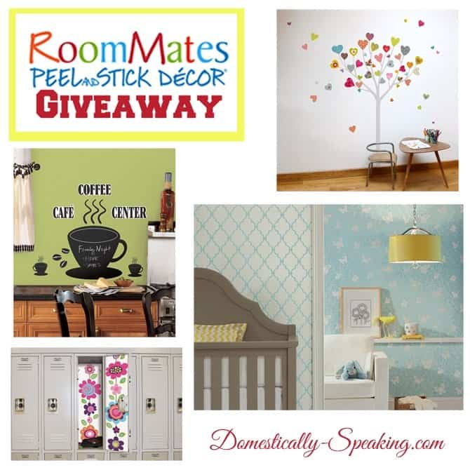 RoomMates Giveaway @ Domestically Speaking