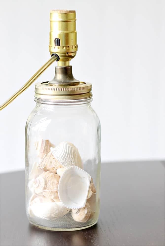 mason jar lamp submit