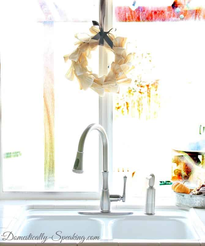 Pfister faucet ~ start of the kitchen makeover