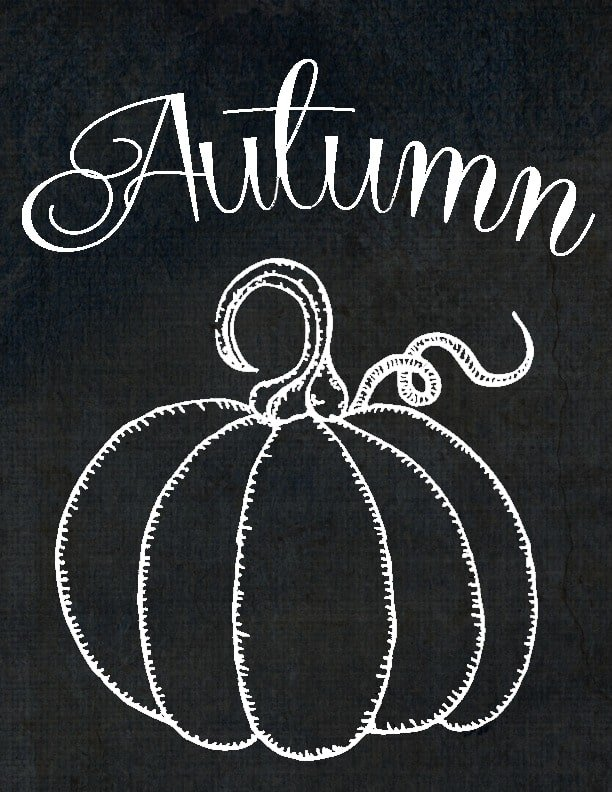 free printables chalkboard autumn pumpkin domestically speaking