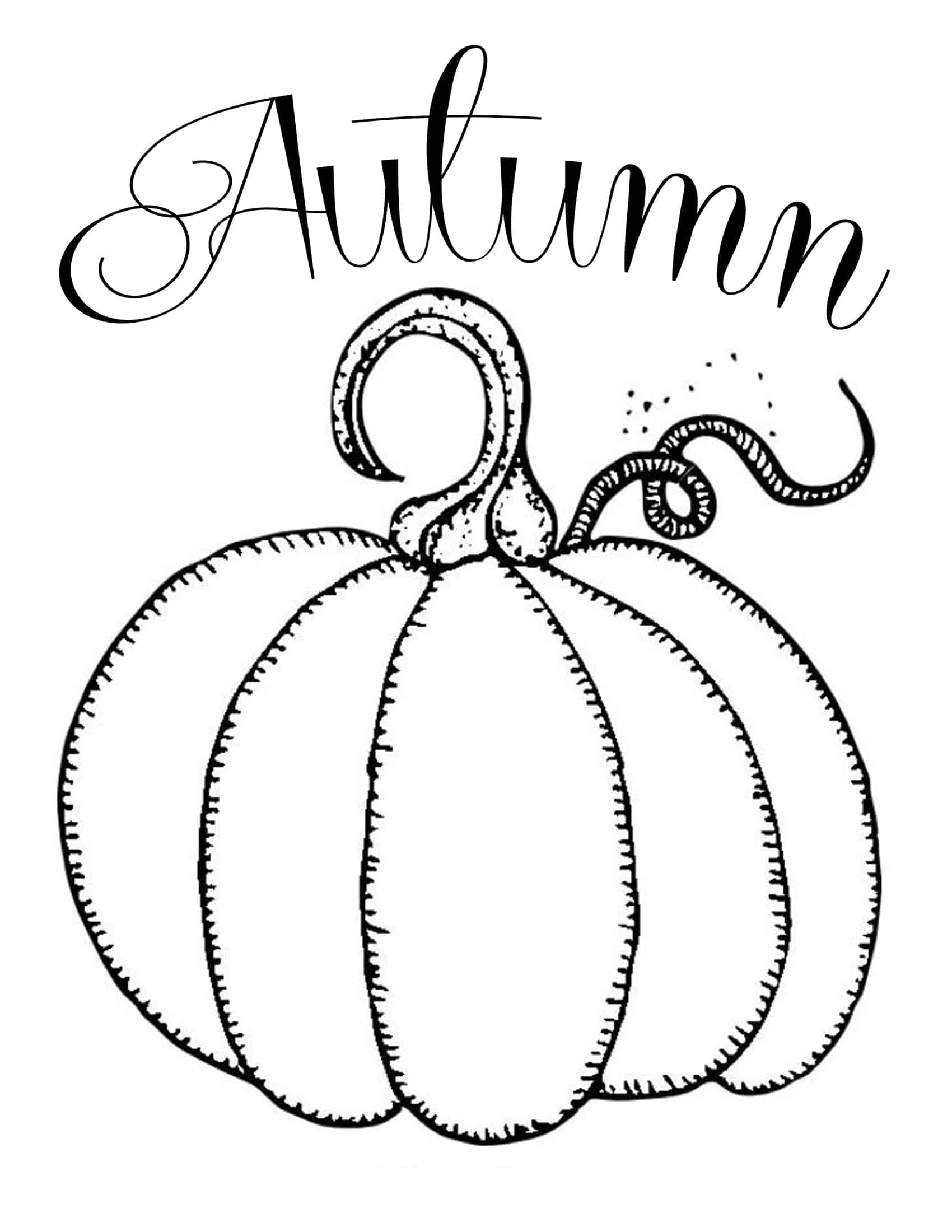 Free printables chalkboard autumn pumpkin domestically for Pumpkin cut out ideas