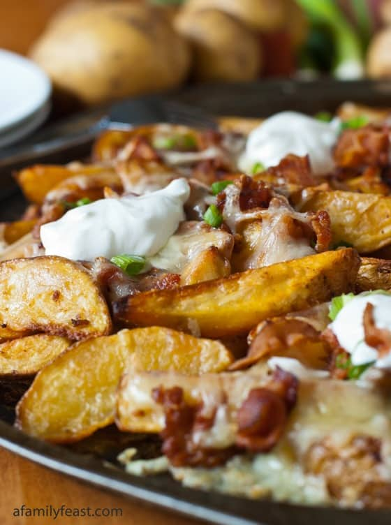 Loaded Pub Fries from A Family Feast