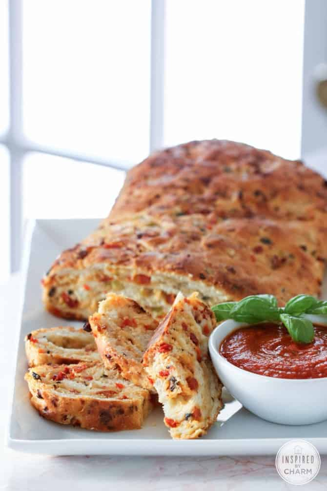 Pizza Bread from Inspired by Charm