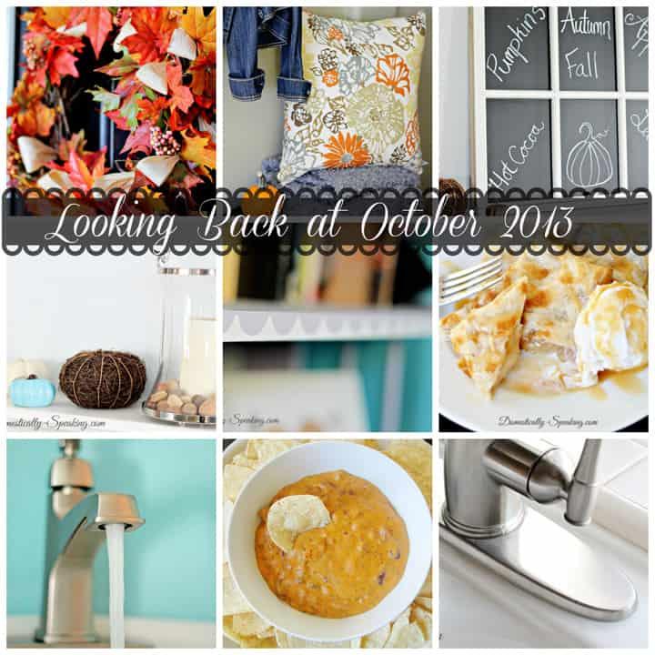Looking Back at October