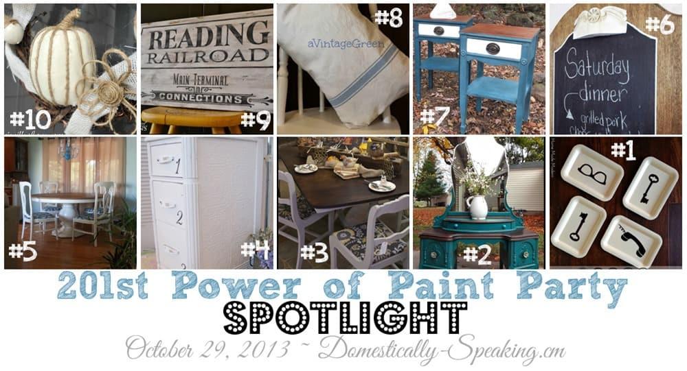 Power of Paint Party Top Ten Spotlight