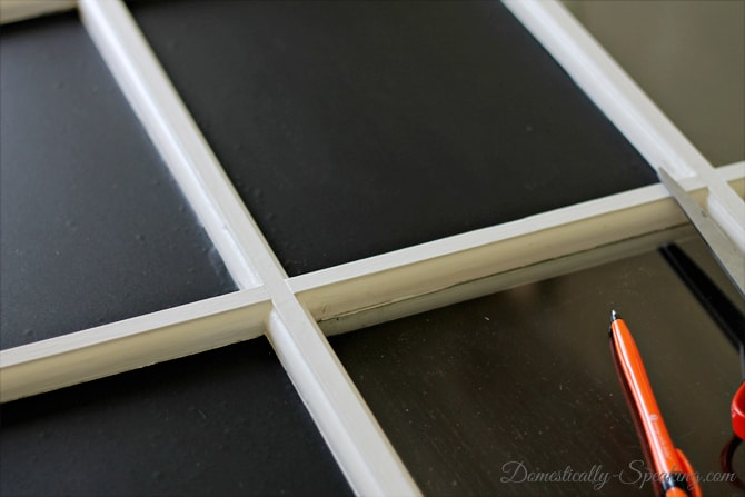 Old Window Chalkboard with Deco Laminate