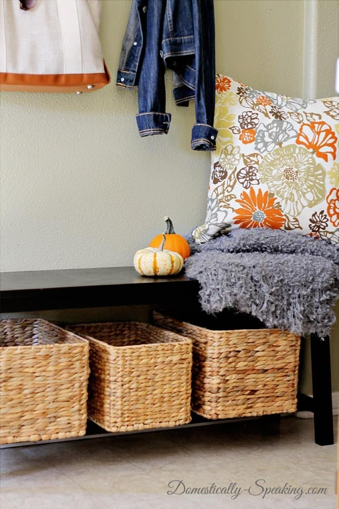 Mini Mudroom Amp Homegoods Giveaway Domestically Speaking