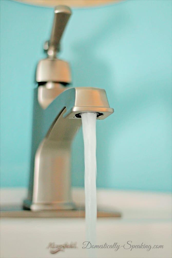 Installing a Bathroom Faucet
