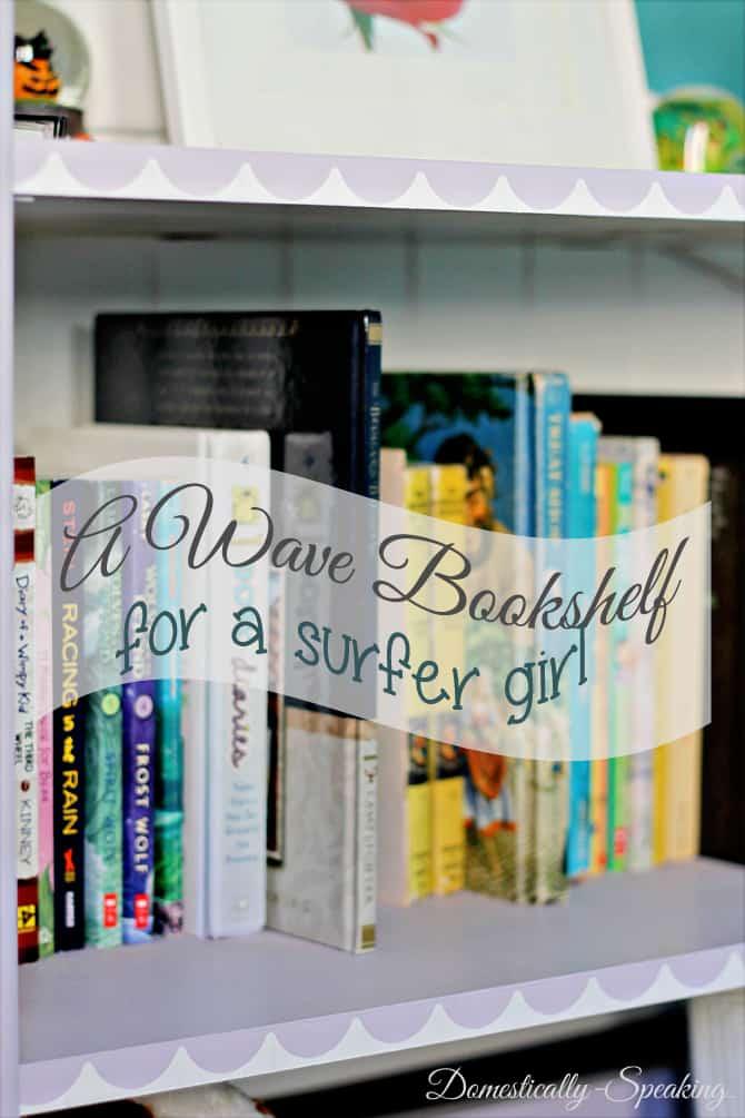 Surfer Girl Bookshelf